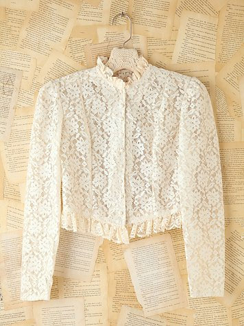 Vintage Lace Long Sleeve Top