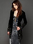 Embellished Magic Velvet Coat