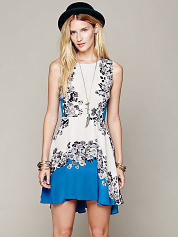 Acid Bloom Kick Out Dress