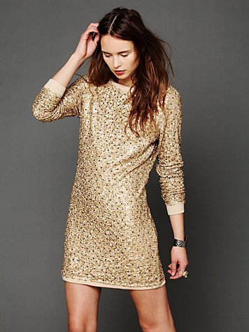 Sequined Impressions Dress