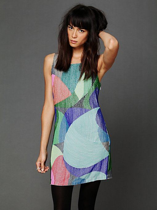 Kaleidoscope Beaded Dress
