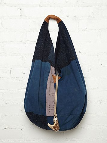 Vintage Denim Hobo
