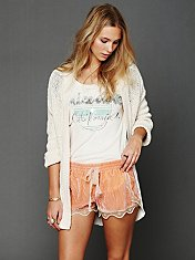 Silky Velvet Lounge Short