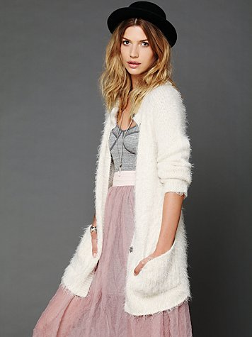Keep It Fuzzy Cardigan