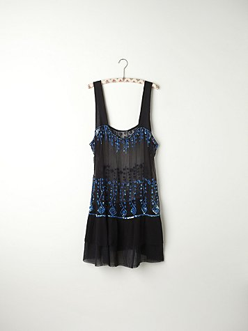 Sequin Embellished Slip