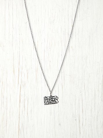 American State Necklace