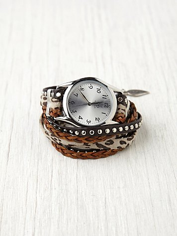 Animal Stud Wrap Watch