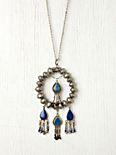 Lazuli Pendant Necklace