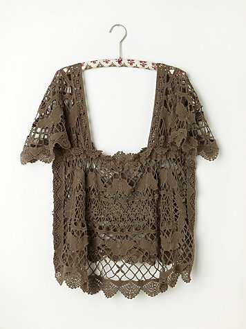 Crochet Battenburg Cami