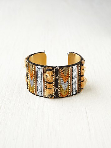 Tapestry Embellished Cuff
