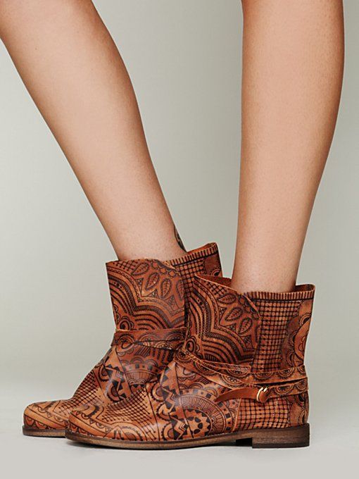 Henna Ankle Boot