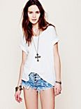 Western Rose Denim Cut Offs