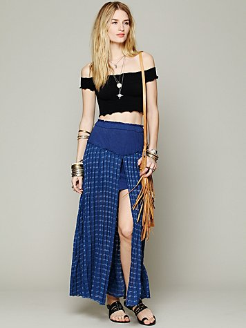 Back Chat Maxi Skirt