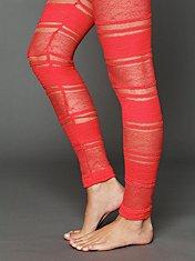 Coral Lace Legging