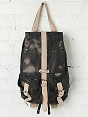 Downtown Leather Backpack
