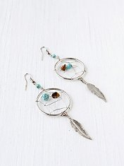 Feather Catcher Earring