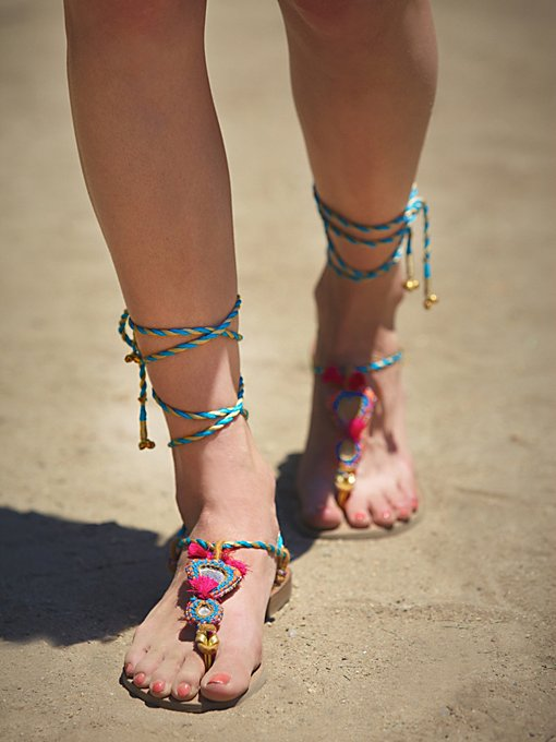 Calcutta Wrap Sandal