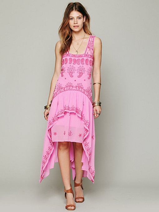 FP New Romantics Cassiopeia Embroidered Dress