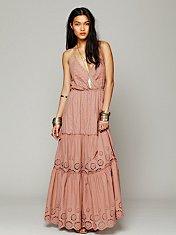 Ophelia Eyelet Maxi Dress