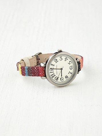 Sedona Woven Strap Watch
