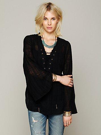 Mila Shirtail Tunic
