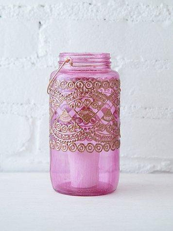 32 Oz Mason Jar Lantern