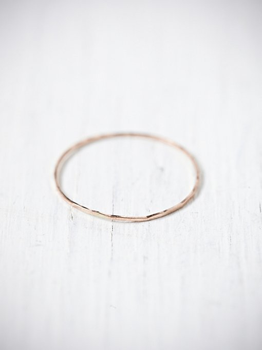 Threadbare Stacking Ring