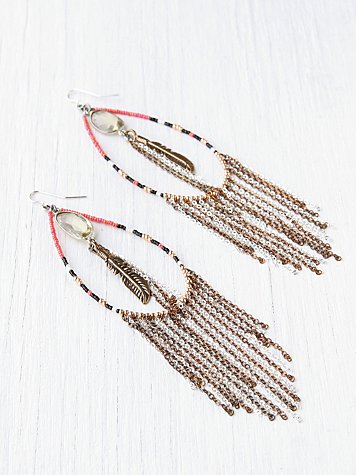 Treasures Tear Drop Earring