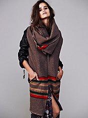Leather Sleeve Blanket Cloak