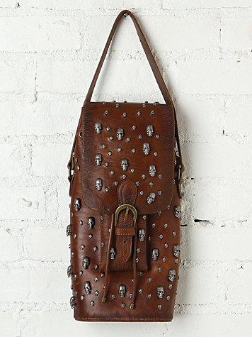 Skull Bucket Bag