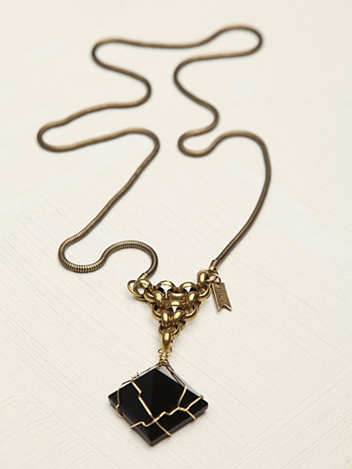Trapped Crystal Pendant