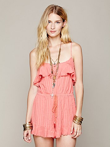 Flirty Beach Romper