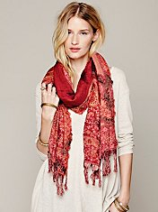 Trippy Paisley Scarf