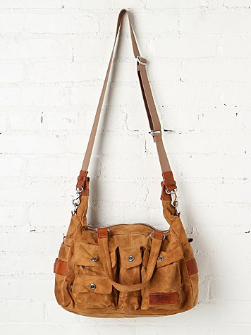 Distressed Utility Tote