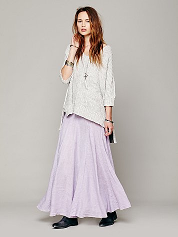 Overdyed Railroad Maxi