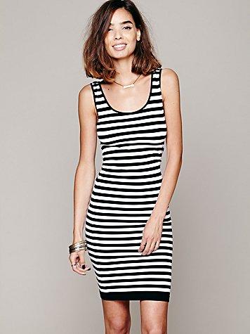 Stripe Seamless Slip