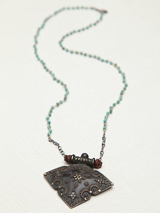 Gypsy Beaded Necklace