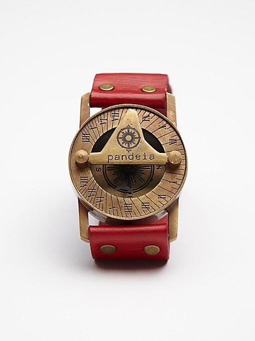 Compass Sundial Cuff