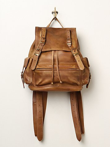 Easton Leather Backpack