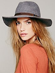 Soho Wide Brim Hat