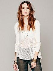 Embellished Swing Pullover