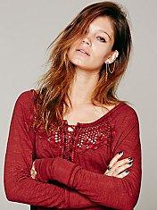 Todela Crochet Henley