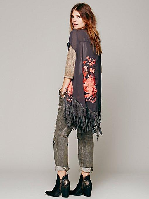 Lola Embroidered Kimono