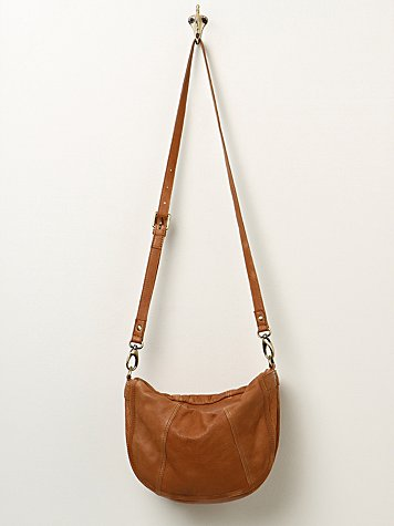Slouchy Leather Crossbody