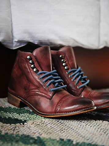 Skyfall Lace Up Boot