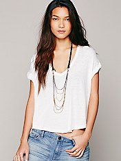 Braid Back Layering Necklace