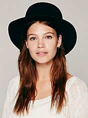 Open Crown Brimmed Hat