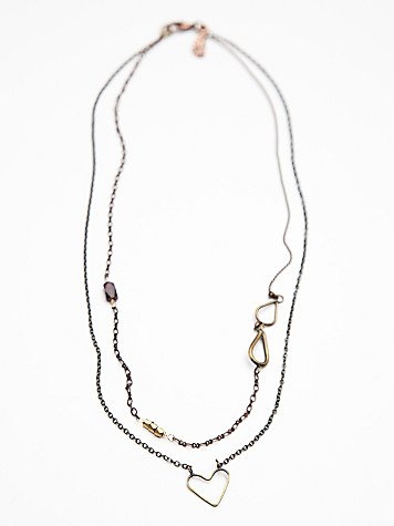 Twin Layers Delicate Necklace