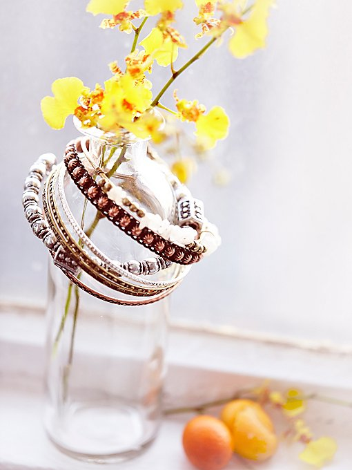 Electric Stone Hard Bangle Set