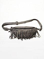 Fringed Leather Sling
